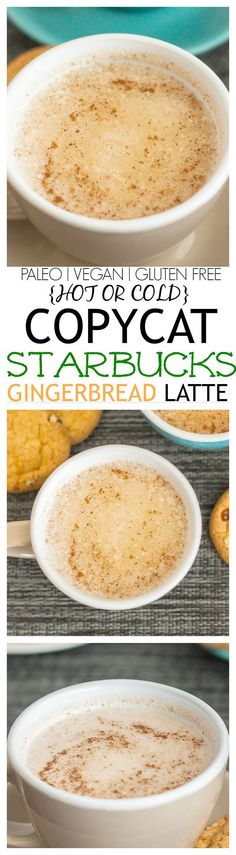 Copycat Starbucks Gingerbread Latte by The Big Man's World. #paleo