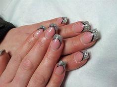 silver by Kristina - Nail Art Gallery nailartgallery.nailsmag.com by Nails Magazine www.nailsmag.com #nailart