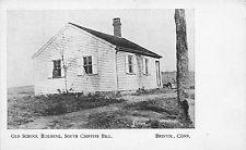 BRISTOL, CT, S. CHIPPINS HILL OLD SCHOOL BLDG, SCARCE BRISTOL PRESS PC c 1907-14