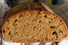 Pâine cu maia naturală și făină de secară Bread Recipes, Bakery Recipes