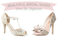 Looking for the best in bridal shoes? We've done our research on the best of flats, wedges and heels from glamorous golds to elegant whites, from designer wedding shoes to budget, see our best on groom and bridal shoes. Best Bridal Shoes, Colorful Wedding Shoes, Sparkly Wedding Shoes, Wedding Pumps, Bridal Wedding Shoes, Sparkly Shoes, Wedding Shoes Heels, Prom Heels, Gold Shoes