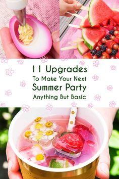 11 Upgrades To Make Your Next Summer Party Anything But Basic