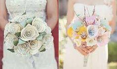 Resultado de imagen para bouquet mariee en papier