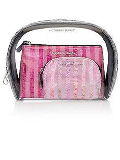 Amazon.com   Victoria s Secret 3pc GLAM Cosmetic Case Set   Beauty 82e323ec22e17