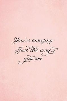 Remember when this song first came out? Love that you sing it to me. ♫ ♥ ♪ Girl your amazin just the way you are♥