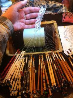 Torchon with Gutermann quilting thread