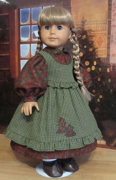 Christmas outfit made for Kirsten by Keepersdollyduds, via Flickr