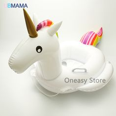 Cute Unicorn Seat Float Kids Boat