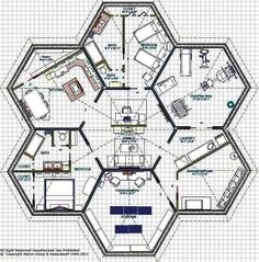 If You're Going To Bug In, Do It Right: DIY Bunker Plans & Above Ground Storm Shelters - From Desk Jockey To Survival Junkie - chryssa-home-decorideas Underground Tornado Shelters, Underground Bunker Plans, Underground Homes, Above Ground Storm Shelters, Hexagon House, Silo House, Bomb Shelter, Safe Room, Earthship