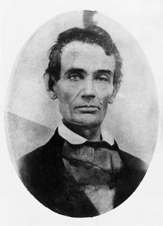 Never seen this young Abraham Lincoln photo, before. His left eye bothers me. American Presidents, American Civil War, American History, Abraham Lincoln, Norman Rockwell, Alexander Calder, Humanismo Secular, Max Ernst, Marie Curie