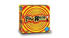 FOU RAIDE AVEC JOE CONNAISSANT Family Party Games, Quebec, French, Boutique, Yellow, Simple, Budget, Music Store, Family Games