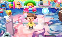 Animal Crossing: New Leaf Diary, Day 9: Got a canary shirt from a villager and I absolutely love it. Finally got the mermaid couch and mermaid carpet, its easily one of my favorite series now.