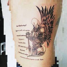 arcanjo miguel   oração em latim | Tatuagem.com (tatuagens, tattoo)