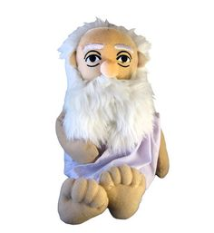 Socrates Soft Toy The only true wisdom is in knowing you know nothing --- Socrates Description deep in thought this Little Thinker emanates an air of