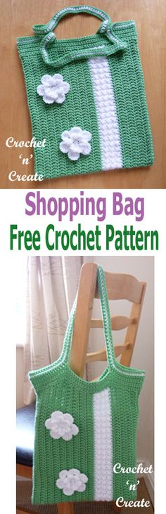 Make this crochet shopping bag for many uses, store and carry your crochet projects in it, take it with you to the stores or use for the beach .....