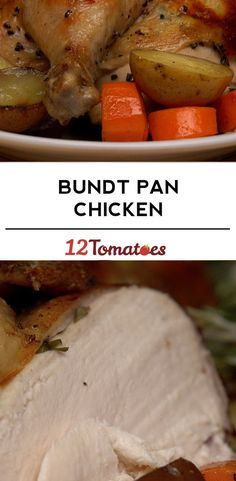 Rotisserie Style Bundt Pan Chicken Bundt Pan Chicken im Rotisserie-Stil Meat Recipes, Chicken Recipes, Dinner Recipes, Cooking Recipes, Turkey Recipes, Bbq Chicken Pizza, Rotisserie Chicken, Kfc, Buffalo Chicken
