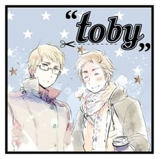 """""""3rd icon for toby-senpai <3"""" by living-in-a-small-world ❤ liked on Polyvore featuring art, Hetalia, LIASWIcons, senpaiicons and senpai3k"""
