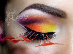 *Use with black/orange Pantone lashes