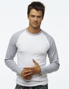 Josh Duhamel. Just because of the shirt he's wearing, and cause he's from North Dakota i guess.