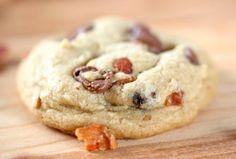 Recette facile de biscuits au bacon et pépites de chocolat