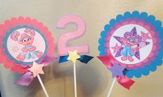 Abby Cadabby Birthday Party Centerpiece or by KhloesKustomKreation, $12.00