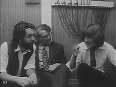 Paul, Mal Evans and George gif