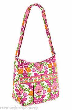 7cd4691696e5 Vera Bradley Mom's Day Out Lilli Bell Crossbody Pink Orange Diaper Bag Girl  Diaper Bag,