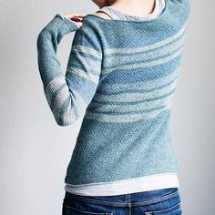Dessine-Moi Un Mouton Pattern by La Maison Rililie: FO by Trin-Annelie on ravelry. #knitting #pattern #knitindie