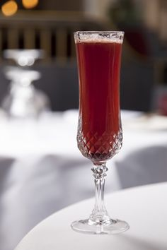 This fabulous mulled wine Bellini recipe,served at The Gilbert Scott, distills the essence of the warming Christmas beverage to produce a sophisticated cocktail. The mulled wine reduction will keep for up to a month and will make 40-50 of these cocktails, so whip up a batch early on and use it throughout the festive period.