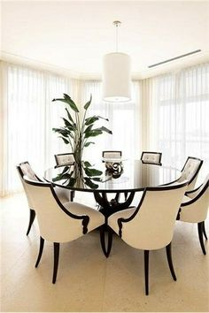 Try A Circular Table For Your Dining Space! Much Nicer Than A Rectangular  Shapeu2026