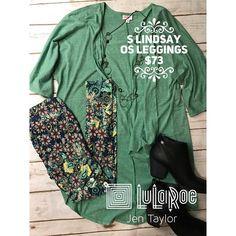 "2 Likes, 1 Comments - lularoejentaylor UT (@lularoejentaylor) on Instagram: ""#ootd of the day is this Beautiful Soft Green #lularoelindsay and GORGEOUS #lularoeleggings! This…"""