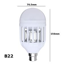 AC220V E27 B22 7W LED Mosquito Bug Zapper Light Bulb Flying Insects Moths Killer Lamp Mosquito Killer, Anti Mosquito, Led Flashlight, Strip Lighting, Light Bulb, Lights, Flying Insects, Bulb Lights
