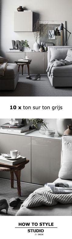STUDIO by IKEA - 10x ton sur ton grijs | STUDIObyIKEA IKEA IKEAnl IKEAnederland Kleur Kleuren Interieur Stylen Styling HowToStyle