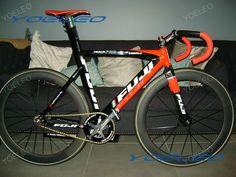 Bike with YOELEO carbon tubular 60mm wheelset