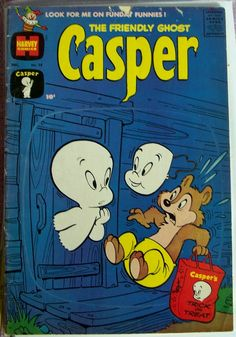 1960 - December -  Harvey Comics CASPER the friendly Ghost  No. 28   HALLOWEEN cvr   Altered ArT