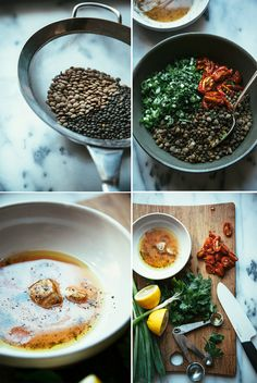 """the best marinated lentils from """"Oh She Glows Every Day"""" - The First Mess #easy #protein #mealprep"""