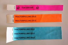 Polsbandjes tyvek Candy, Sweet, Toffee, Candy Notes, Candles, Candy Bars, Chocolates, Fondant