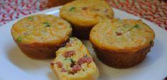 Muffin de cenoura e calabresa