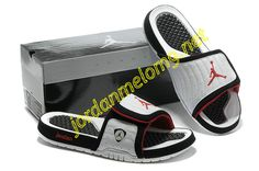 46565841d631c Jordan Hydro 14 Premier Slides Sandals Submit White Black Red Discount  Jordans