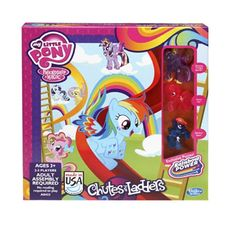 My Little Pony Chutes And Ladders Game Hasbro