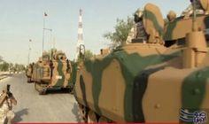 أردوغان يرسل 80 مدرعة إلى الدوحة لتأمين القاعدة العسكرية فى قطر: أردوغان يرسل 80 مدرعة إلى الدوحة لتأمين القاعدة العسكرية فى قطر