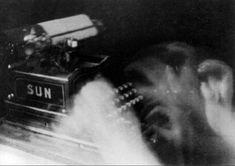 The Typist - Anton Giulio Bragaglia (Italian, Date: 1911 Medium: Gelatin silver print Dimensions: Image: x cm x 6 in. A Level Photography, Modern Photography, Abstract Photography, Black And White Photography, Sequence Photography, Dramatic Photography, Movement Photography, Photography 2017, Monochrome Photography
