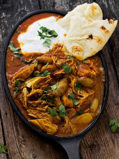Indian Spiced Stew with Chicken and Potatoes