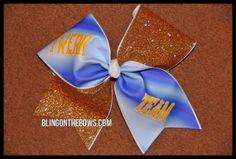 TWERK team CHEER bow by Kreationz4kidzdotcom on Etsy, $14.50