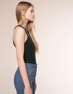 HALTER NECK TOP - NEW PRODUCTS - NEW PRODUCTS - PULL&BEAR Greece