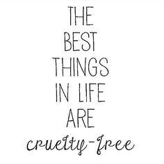 Like cruelty free skincare ✌️