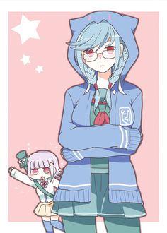 Chiaki and peko