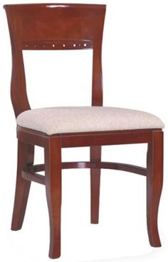 These highly elegant and beautifully designed restaurant wood chairs will bring grace to any upscale venue. Best offer on these beidermeir chairs!  sc 1 st  Pinterest & 36 best Restaurant Chairs - Wood images on Pinterest | Log stools ...