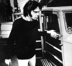 Neil Young With His Cars
