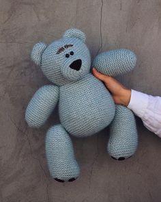 Knitting Bear, Dinosaur Stuffed Animal, Teddy Bear, Toys, Animals, Activity Toys, Animales, Animaux, Clearance Toys